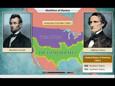 History- 5th Std: Abraham Lincoln and Abolition of Slavery