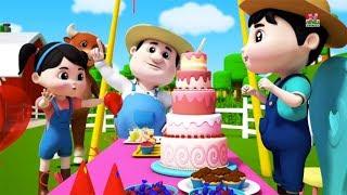 selamat ulang tahun lagu | anak-anak lagu | sajak untuk anak | Farmees Song | Happy Birthday Song