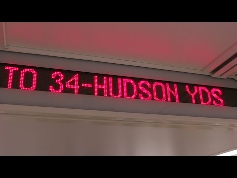 NYC Subway: First Train to 34th Street-Hudson Yards