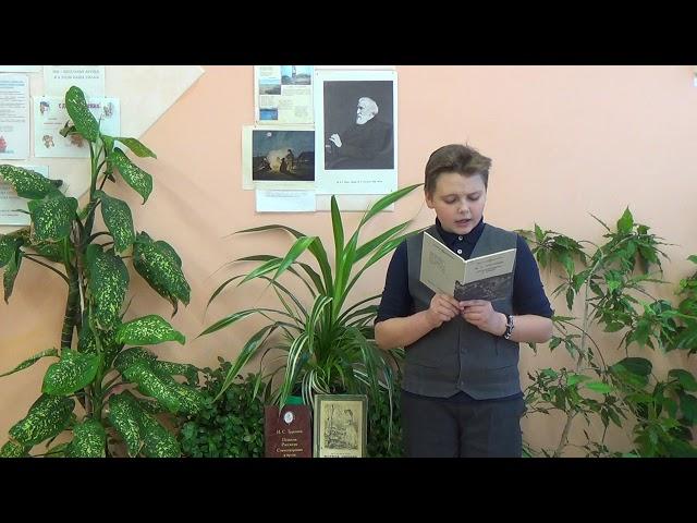 Изображение предпросмотра прочтения – КириллНиколаев читает произведение «Близнецы» И.С.Тургенева