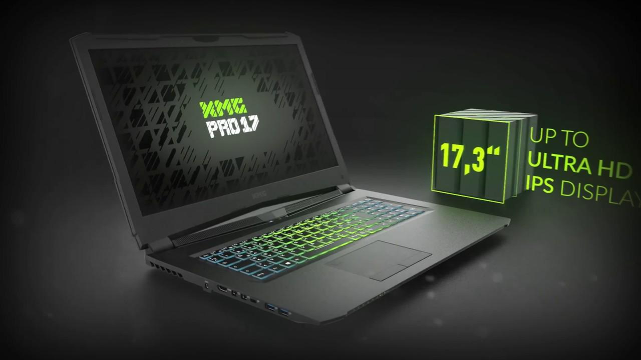 Xmg Pro 17 Gaming Laptop Youtube