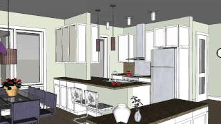Small Modern Cottage, Cabin Or Beach Home Design - Scandia Modern Cottage House Plan