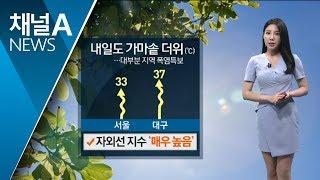 [날씨]펄펄 끓는 '가마솥 더위'…불쾌지수 높아