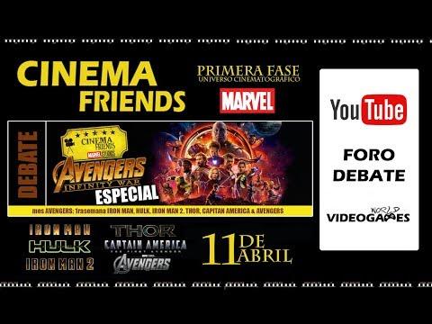 Cinema Friends - Fase I MCU (Universo cinematográfico de Marvel) - Debate