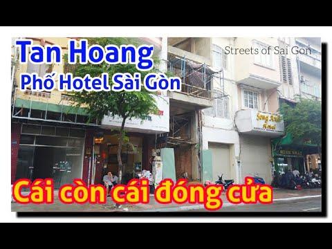 Phố Khách Sạn Hotel Lê Thánh Tôn Sài Gòn vẫn tan hoang vì dịch