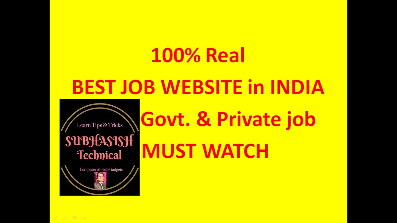 best job site in private govt job search easily must best job site in private govt job search easily must watch