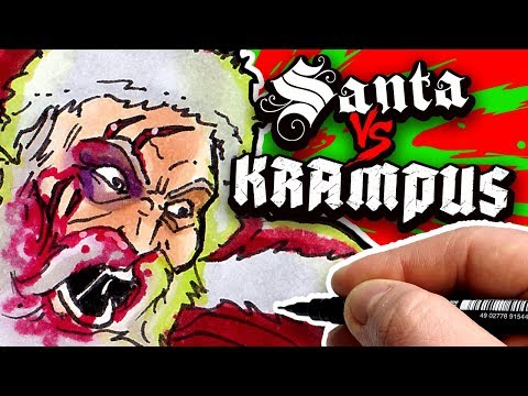 SANTA Vs. KRAMPUS! - WHO WILL WIN???