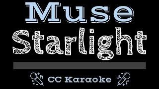Muse • Starlight (CC) [Karaoke Instrumental Lyrics]