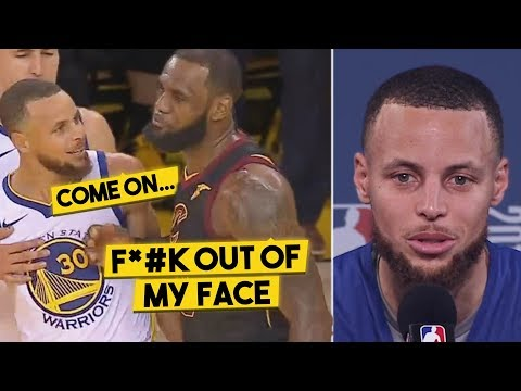 Here's What Was Said In LeBron's SCUFFLE w/Curry, Steph Explains The Animosity Between Them...