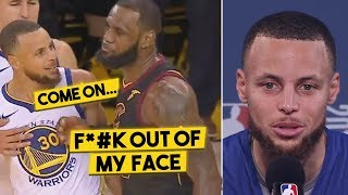 Here's What Was Said In LeBron's SCUFFLE w/Curry, Steph Explains The Animosity Between Them... thumbnail
