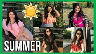 PLUS SIZE Summer Bikini Try-On HAUL | AngKikayKo