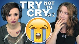 "TRY NOT TO CRY CHALLENGE | Girls React | ""I Love You"""