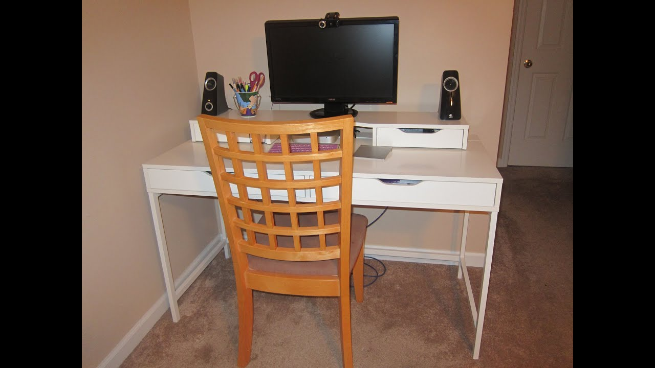 High Quality Our New Ikea Bedroom And Mini Office   YouTube