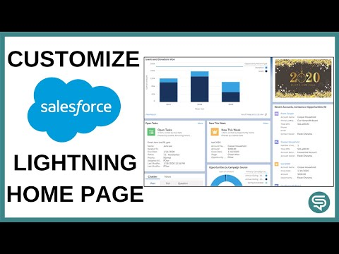 Customize Salesforce Lightning Home Page
