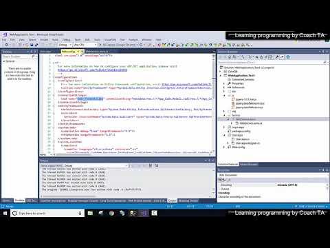 GET web service (.asmx) using Jquery Ajax - หัดเขียน Web Application ด้วย Visual studio C# Part#6 thumbnail