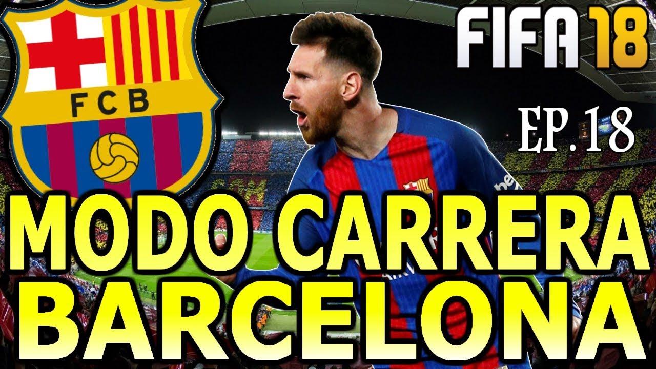 Pasamos A Cuartos De La Champions Fifa 18 Modo Carrera Barcelona