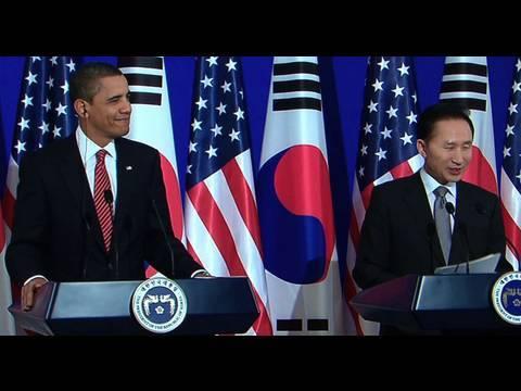 President Obama & President Lee Joint Press Conference