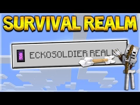 Minecraft 1.2.5 SURVIVAL REALMS - Let's Design My House! (Better Together Update)
