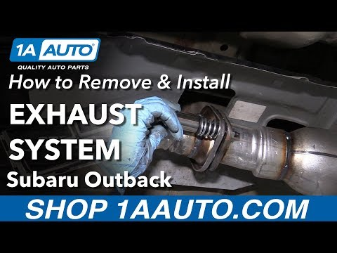 How to Replace Exhaust System on a 04-09 Subaru Outback
