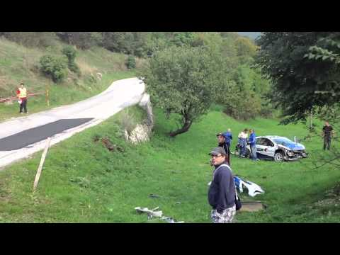 Rally Nova Gorica 2013 Crash Igor Zbogar