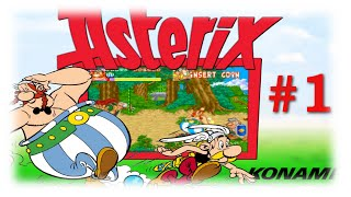 Asterix (Arcade1992) #1: Continuesnix Let&#39s Play Asterix Arcade
