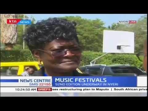 Kenya National Music Festivals underway in Nyeri County