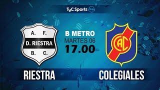 Deportivo Riestra vs Colegiales full match