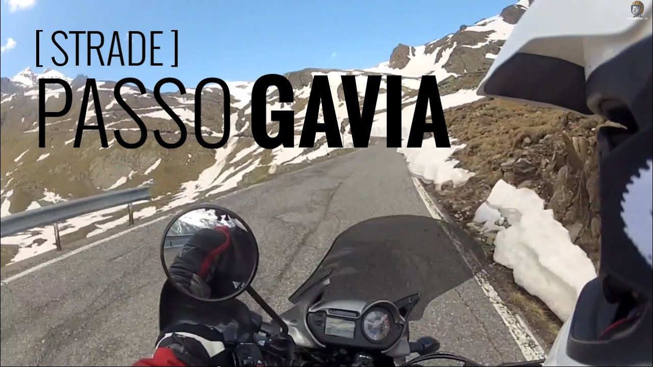Passo Gavia In Motion Video On Board And Mappamotoreetto