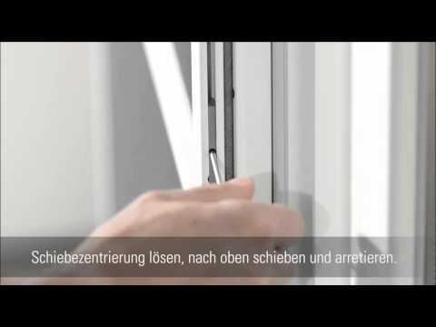 Neher Insektenschutz Pendeltur Aushangen Youtube