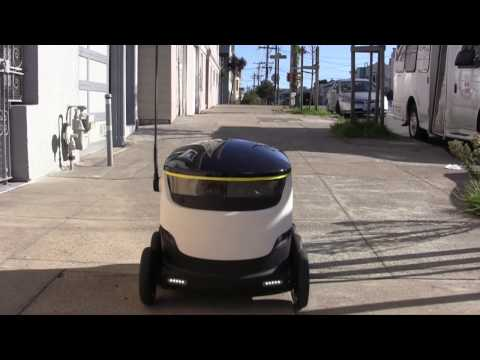 Starship Technologies Delivery Robot to Hit Redwood City's Streets