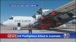 3 American Firefighters Killed When Plane Crashes In Southern Australia