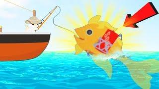 ОНА СТОИТ $1.500.000, КАК ПОЙМАТЬ SODAFISH?   Cat Goes Fishing