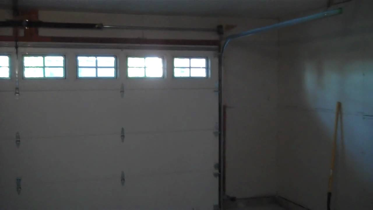 Garage door inside YouTube