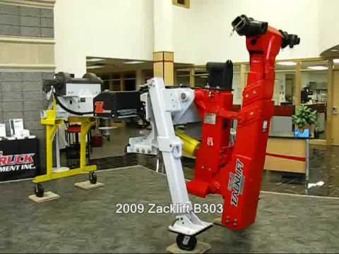 New Zacklift B303 Heavy Duty Underlift With Hydraulic Legs