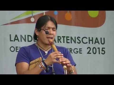 Leo Rojas - stage set-up (Oelsnitz, DE 2015)