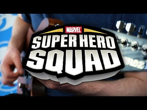 The Super Hero Squad Show Theme on Guitar