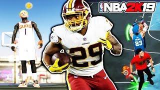 STREAKING w/ NFL PLAYER DERRIUS GUICE 🏈 NBA 2K19