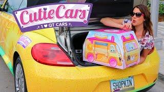 Cutie Car Scavenger Hunt in Hollywood!!! Finding Cutie Cars at an Amusement Park & Dance Studio