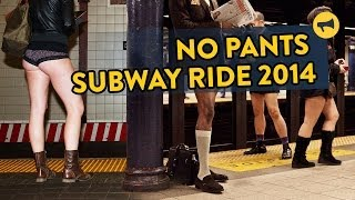 Repeat youtube video No Pants Subway Ride 2014