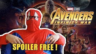 AVENGERS: INFINITY WAR  Film Review | Fiction & Science