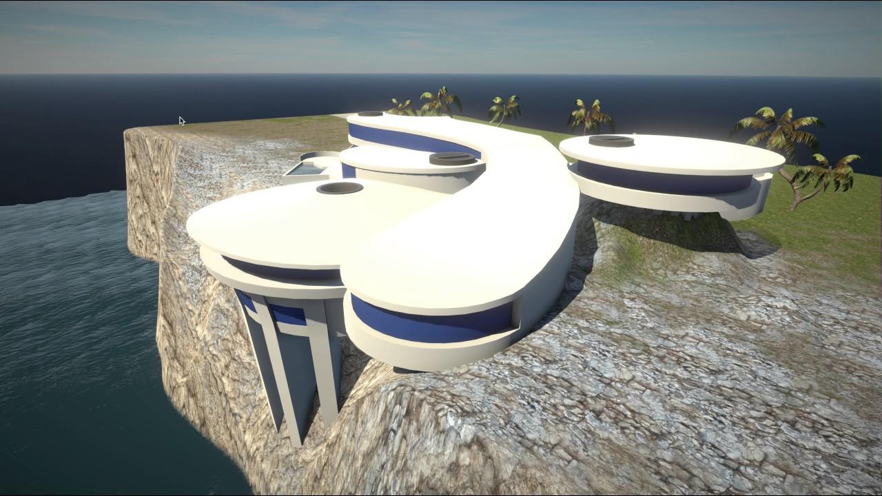 Tony Stark's Malibu Mansion - YouTube