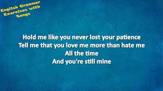 LOST ON YOU LYRICS LP - PRESENT PASSIVE (A2+-Preintermediate)
