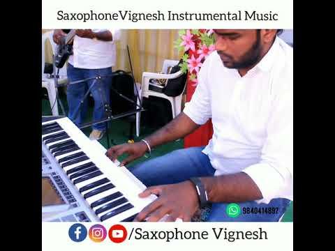 Kurukku Siruthavale Song | Keyboard Vignesh | SaxophoneVignesh Instrumental Music