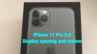 iPhone 11 Pro 5.8 Review and Thoughts