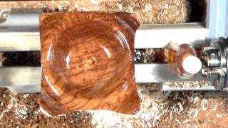 Woodturning - Project Turning A Square Bowl With Lid (jewerly Box)