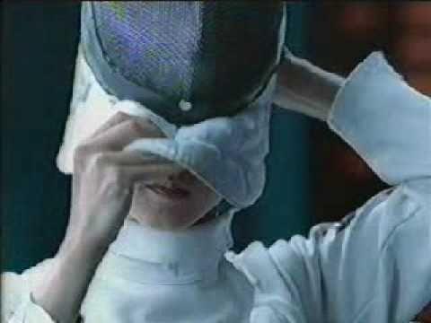 香港廣告: acuvue隱形眼鏡(何嘉麗:香港劍擊冠軍)2001 - YouTube