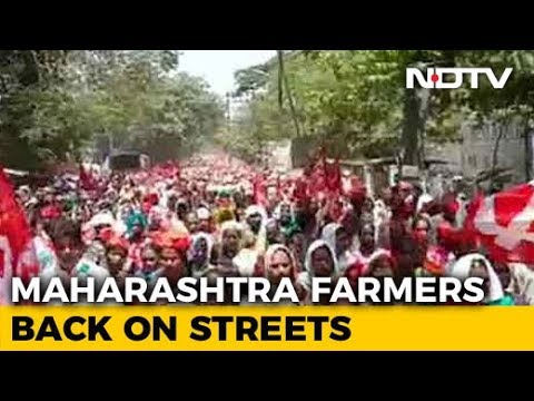 Maharashtra Farmers Protest Against Land Acquisition For Bullet Train Project