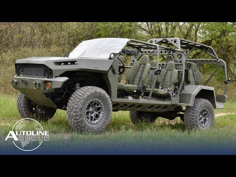 GM Working On New Military Vehicle, Audi's Digital OLEDs - Autoline Daily 2666