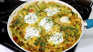 Delícia de Repolho com Ovos