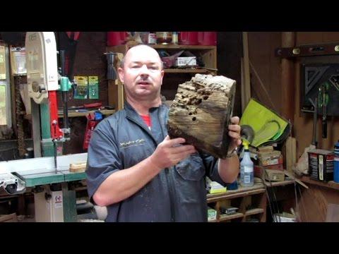 #97 Stabilizing and Finishing Rotten Woodturning Blanks Part 1